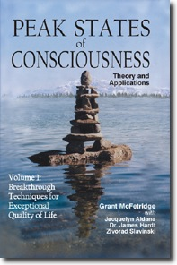 Cover of Volume 1 of Peak States of Consciousness